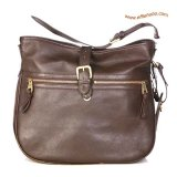 Mulberry Mabel Leather Hobo Bag Brown