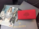 2015 Latest Mulberry Blossom Zip Around Wallet Hibiscus Calf Nappa Leather