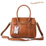 Mulberry Small Bayswater Satchel Bag Oak