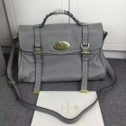 2015 Latest Mulberry Large Alexa Bag in Grey Soft Leather