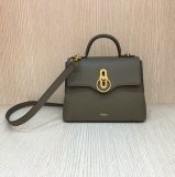 2018 New Mulberry Small Seaton Bag Clay Classic Grain Leather