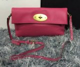 2015 Cheap Mulberry Clemmie Clutch MF0553 in Hot Pink Leather