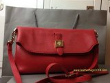2014 Fall/Winter Mulberry Tessie Shoulder Bag in Poppy Red Soft Grain Leather