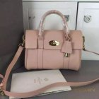 2015 A/W Mulberry Small Bayswater Satchel in Pink Leather