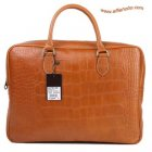 Mulberry Men's Tony Laptop Briefcase Oak