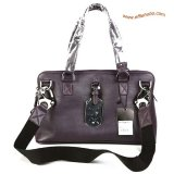 Mulberry Euston Leather Tote Bag Purple