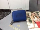 2015 Latest Mulberry Blossom Zip Around Purse 312332 in Sea Blue