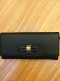 2014 Mulberry Bow Continental Purse MN3567 in Black