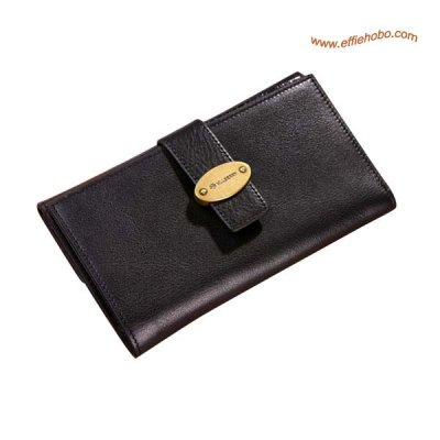 Mulberry Mens Card Wallet Black