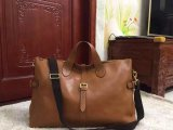 Men's Mulberry Albert Holdall in Oak Natural Leather