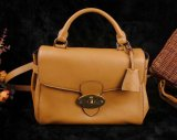 Mulberry Primrose Satchel Bag Deer Brown Leather