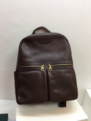 2019 Mulberry Henry Backpack in Chocolate Leather
