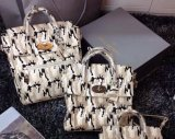 2014 Autumn/Winter Mulberry Large Cara Delevingne Bag Black & White Camouflage Haircalf