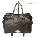 Mulberry Hayden Leather Tote Bag Brown
