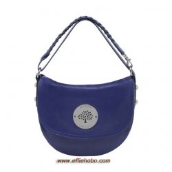 Mulberry Daria Satchel Cosmic Blue Soft Spongy