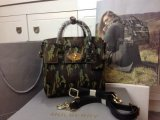 2014 Autumn/Winter Mulberry Mini Cara Delevingne Bag Khaki Camouflage Haircalf