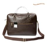 Mulberry Men's Large Heathcliffe Laptop Briefcase Brown