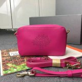 2015 Latest Mulberry Blossom Pochette With Strap Mulberry Pink Calf Nappa
