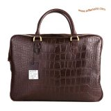 Mulberry Men's Tony Laptop Briefcase Brown