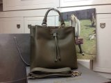 2014 Autumn/Winter Mulberry Small Kensington Bag in Grey Grained Leather