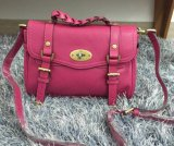 2015 New Mulberry Small Alexa Satchel Bag 7879 Mulberry Pink Leather