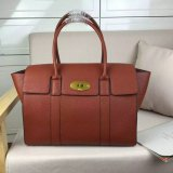 2016 A/W Mulberry New Bayswater Oak Natural Grain Leather