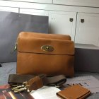 2015 Mens Mulberry Messenger Bag in Oak Natural Leather