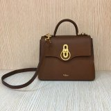 2018 New Mulberry Small Seaton Bag Tan Classic Grain Leather