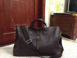 Men's Mulberry Albert Holdall in Chocolate Natural Leather