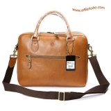 Mulberry Men's Large Heathcliffe Laptop Briefcase Oak