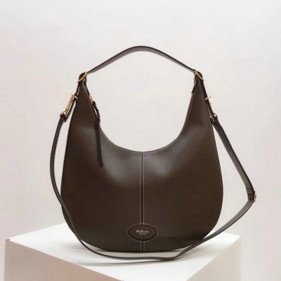 2018 Mulberry Small Selby Hobo Bag in Silky Calf Leather
