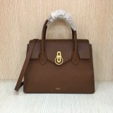 2018 New Mulberry Seaton Bag Tan Small Classic Grain Leather