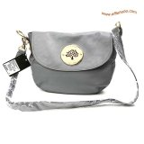 Mulberry Daria Leather Satchel Bags Gray