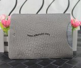 Mulberry Simple Ipad Sleeve in Grey Shrunken Leather