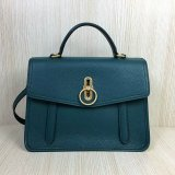2018 Mulberry Gracy Satchel Imperial Blue Grain Calf Leather
