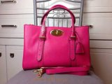 2015 Latest Mulberry Bayswater Double Zip Tote Bag in Mulberry Pink