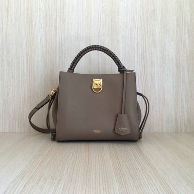 2020 Mulberry Small Iris Bag in Grain Leather