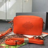 2015 Latest Mulberry Blossom Pochette With Strap Mandarin Calf Nappa