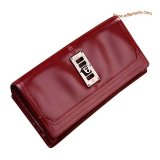 Mulberry Patent Leather Purse Red