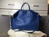 2015 Discount Mulberry Oversized Alice Zipped Tote Sea Blue Small Grain Leather