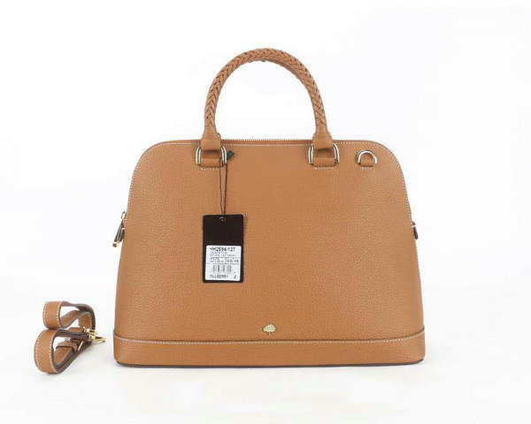 2014 Latest Muberry Pembridge Double Handle Bag in Oak Soft Grain Leather