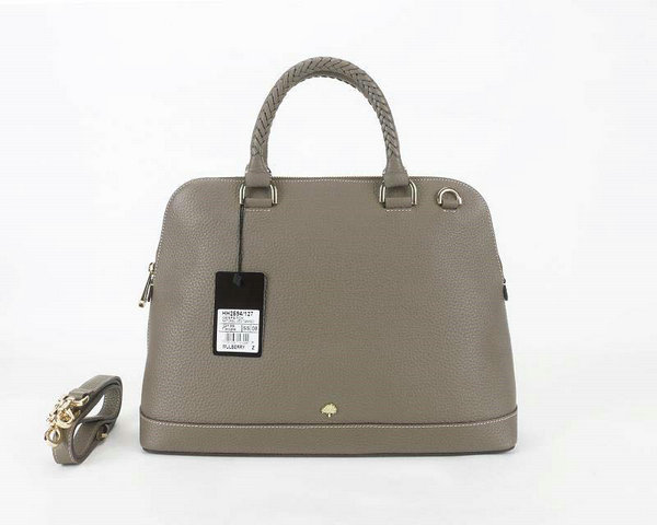 2014 Latest Muberry Pembridge Double Handle Bag in Taupe Soft Grain Leather
