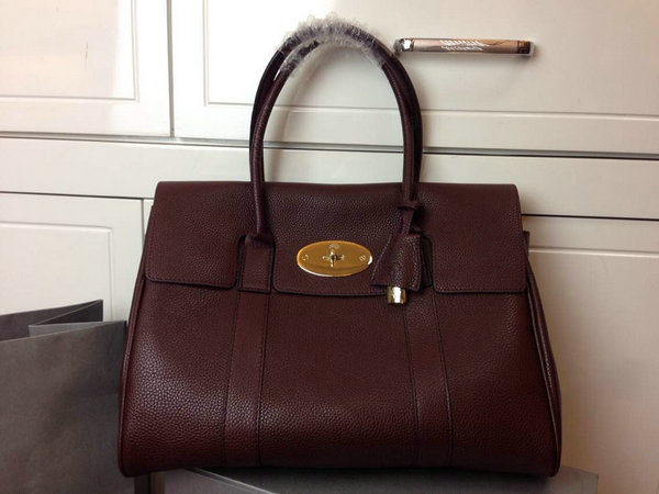 2014 Autumn/Winter Mulberry Bayswater Handbag in Oxblood Leather