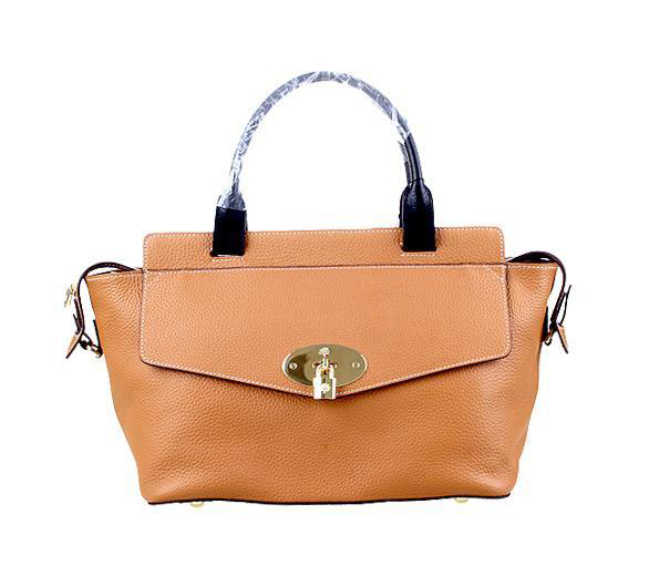2014 Latest Mulberry Blenheim Tote in Wheat Soft Grain Leather