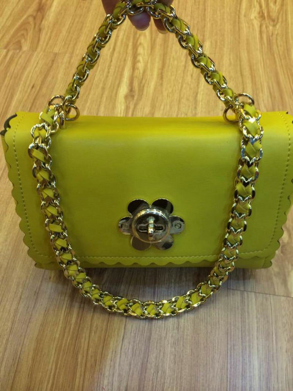 New Mulberry Cecily Shoulder Bag with Flower Lock