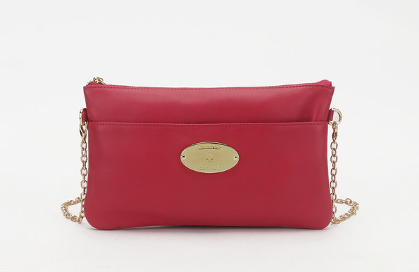 2014 New Mulberry Leather Clutch Wallet 8908 in Peach