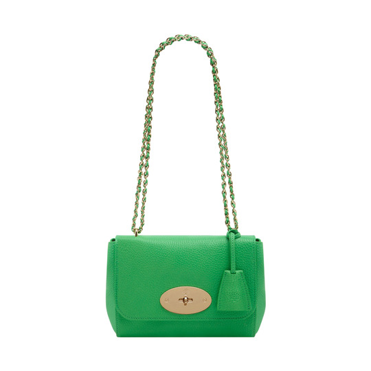 2014 Latest Mulberry Lily Queen Green Soft Grain Leather