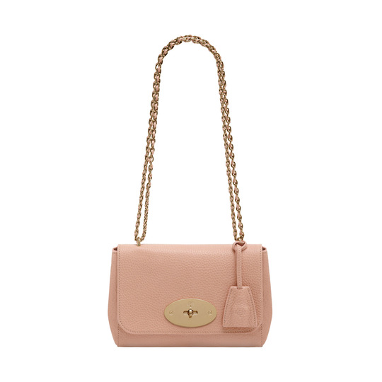2014 Latest Mulberry Lily Ballet Pink Soft Grain Leather