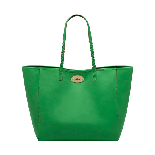 2014 Latest Mulberry Medium Dorset Tote in Queen Green Soft Nappa