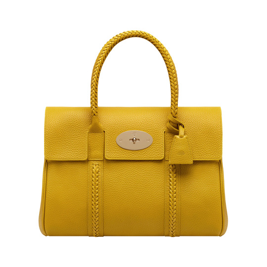 Mulberry Pembridge Bayswater Bag Golden Yellow Leather